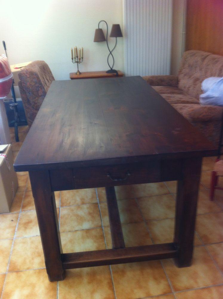 table  salle à manger en Merisier 350 Saint-Julien-de-Lampon (24)
