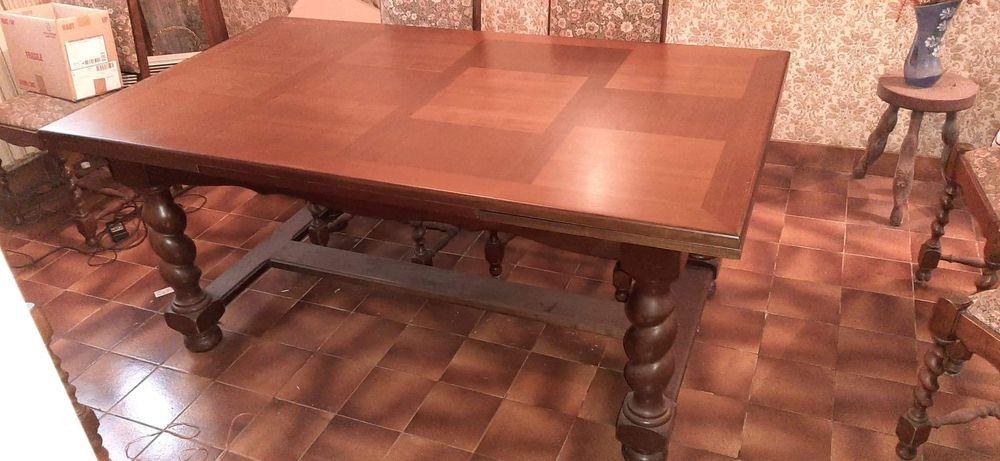 Table salle à manger en bois massif 0 Coray (29)