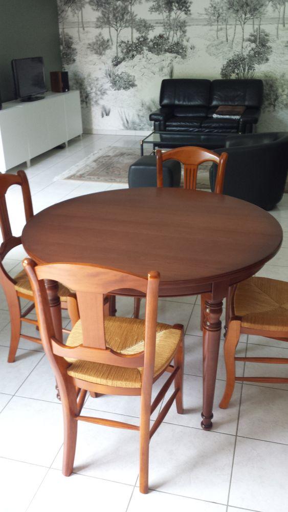 Table salle à manger merisier 200 Cestas (33)