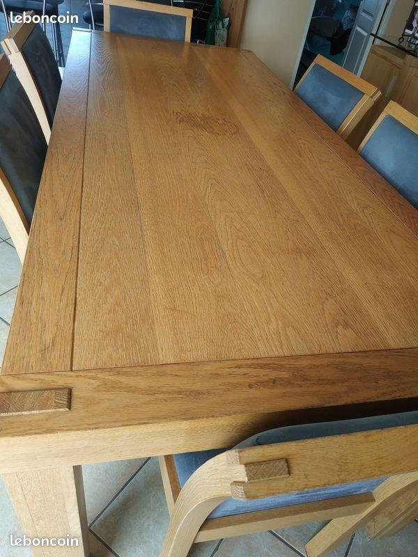 table salle à manger+ chaises 200 Béthune (62)