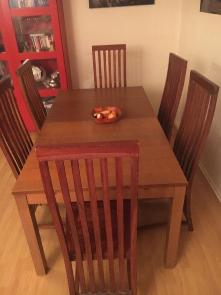 Table salle à manger + 6 chaises 0 Montreuil (93)