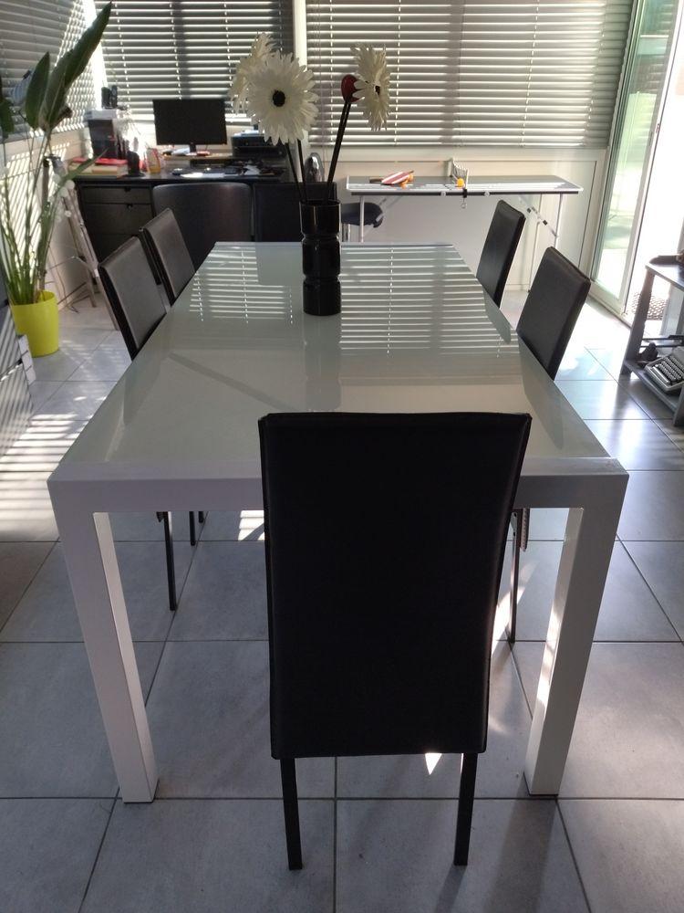 Table de salle à manger + 6 chaises 280 Rodès (66)
