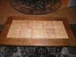 Table de salon bois dessus carrelage Meubles