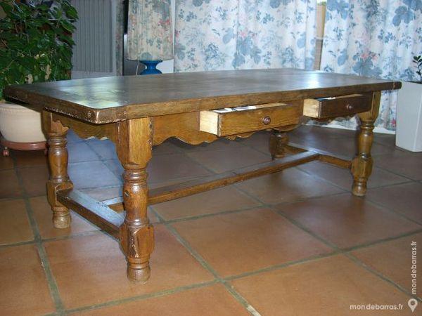 table de salon en chêne massif 110 Aix-en-Provence (13)