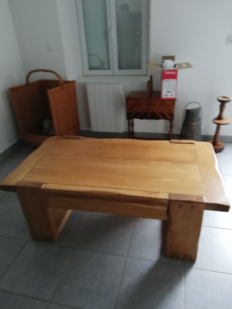 Table de salon en chene 200 Laigny (02)