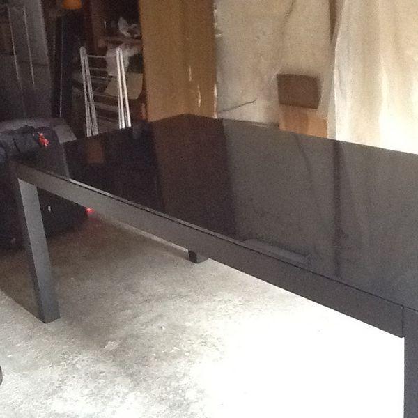 Table De Salon Dessus En Verre