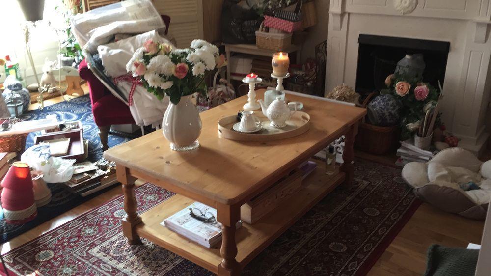 table de salon double plateaux pin massif INTERIORS 150 Montigny-le-Bretonneux (78)