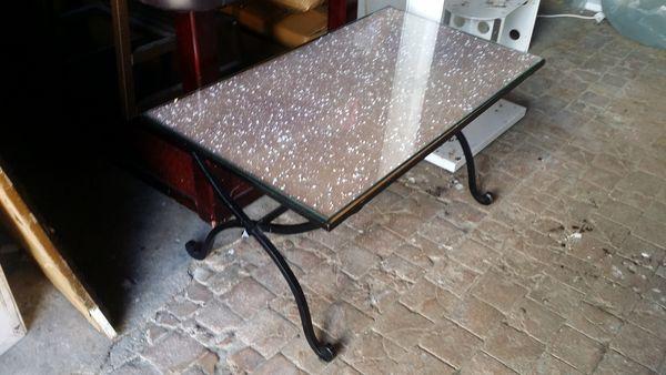 table salon fer forgé 25 Myennes (58)