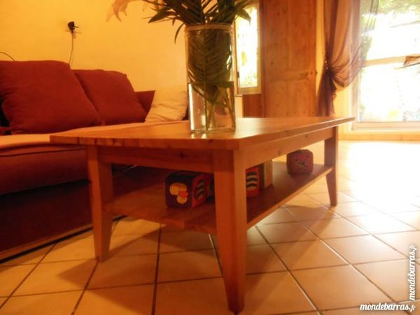 Table de salon en pin massif 25 Salon-de-Provence (13)