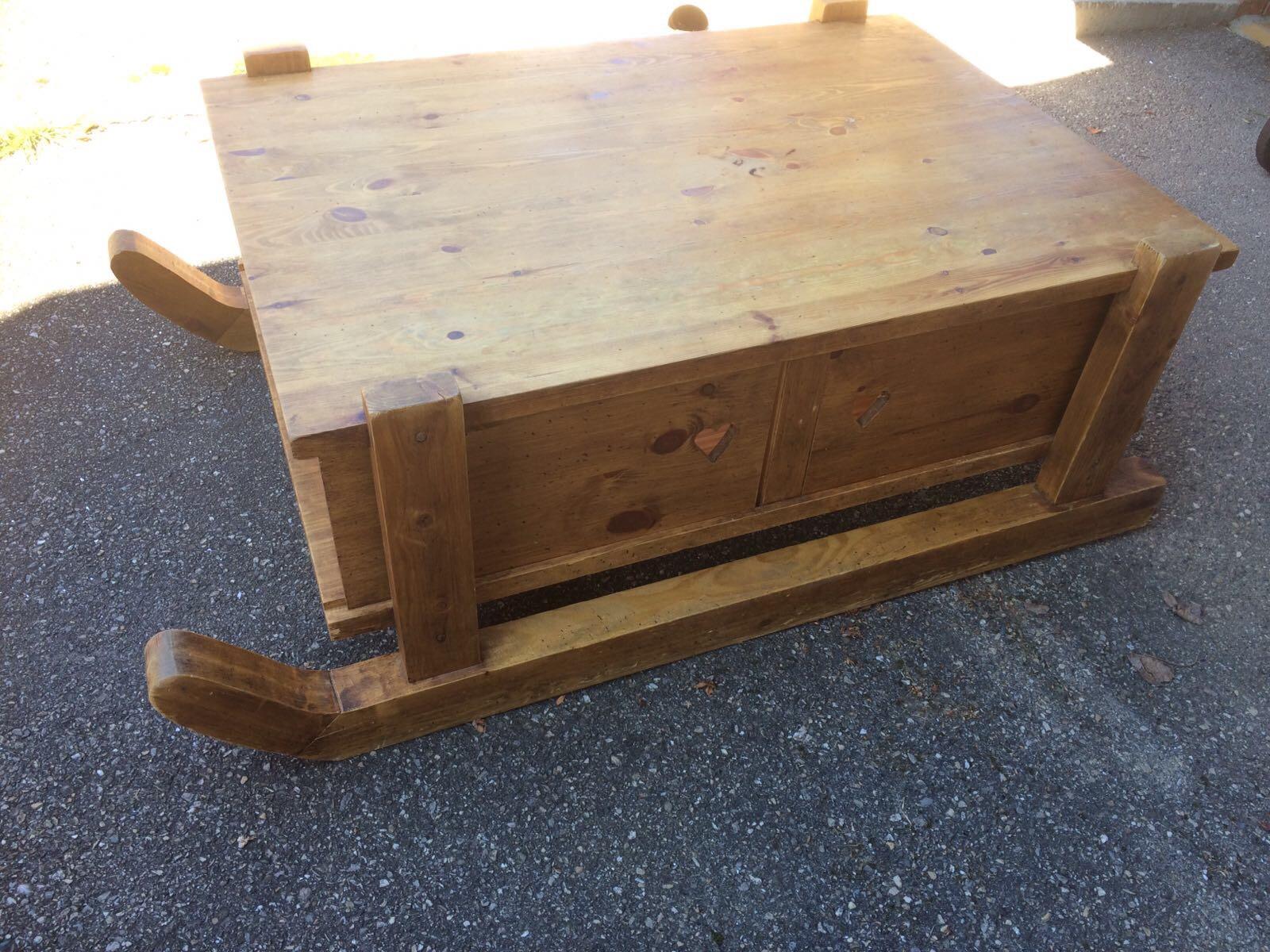 Table salon en pin massif 180 Charvieu-Chavagneux (38)