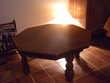 Table de salon octogonale