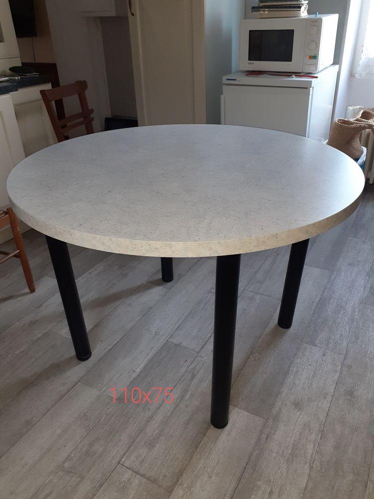Table  Schmitt de cuisine ou autre 140 Cransac (12)