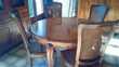 table et sièges régence Meubles