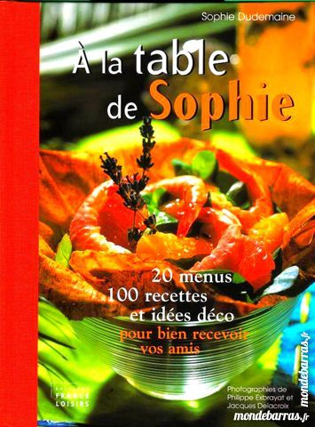 A LA TABLE DE SOPHIE / prixportcompris 16 Laon (02)