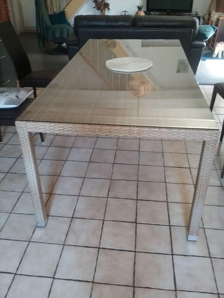 Table structure  alu  vitre 4mm  , 80 Saint-Sauvant (86)