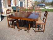 table style Henry 2 avec chaises et rallonges 0 Xivray-et-Marvoisin (55)