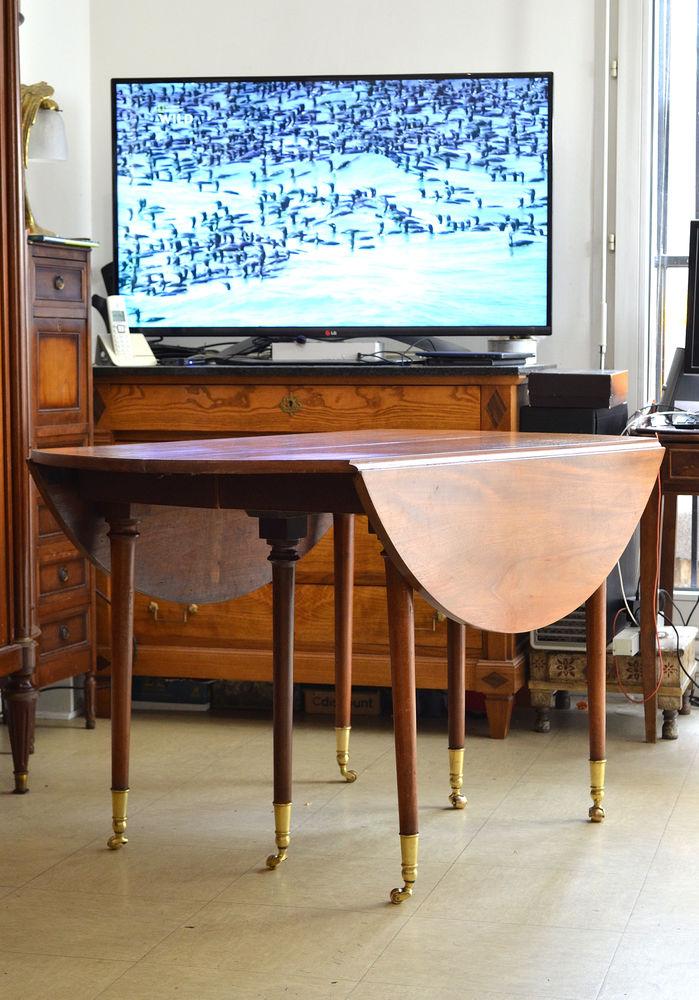 Table style Louis XVI en merisier époque 19ème 950 Pantin (93)