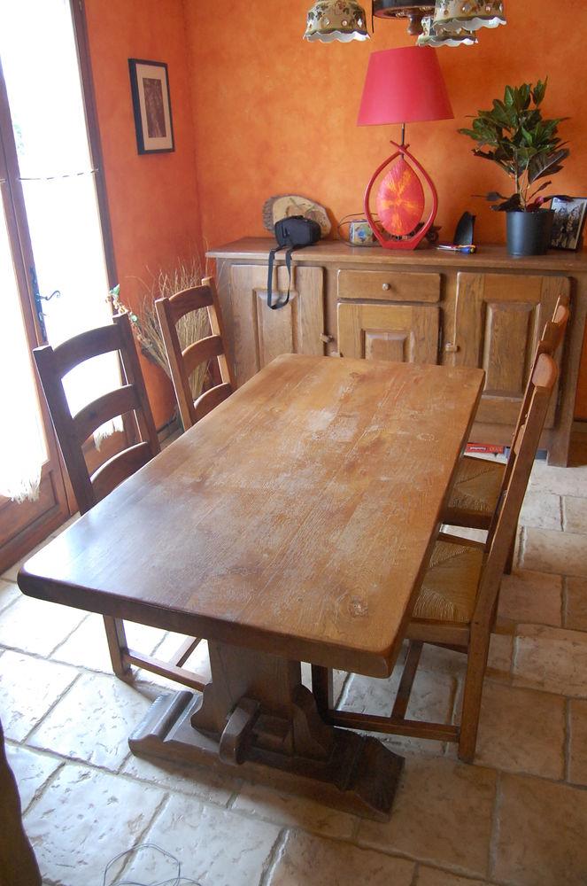 Table style monastère en chêne massif 300 Brannay (89)