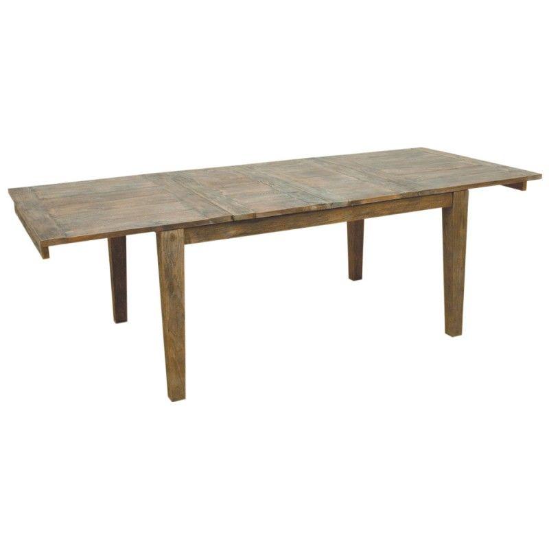 Table en teck recyclé GALWAY 349 Villers-Cotterêts (02)