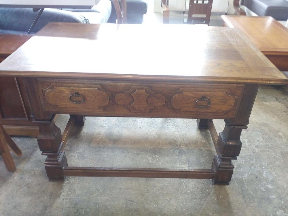 Table 1 tiroir en bois massif 120 X 70 Meubles