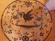 Table tripode verre  oiseau de paradis   Perpignan (66)