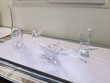 TABLE-VASE - CORBEILLE à FRUITS - CRISTAL- QUALITÉ Blanzat (63)