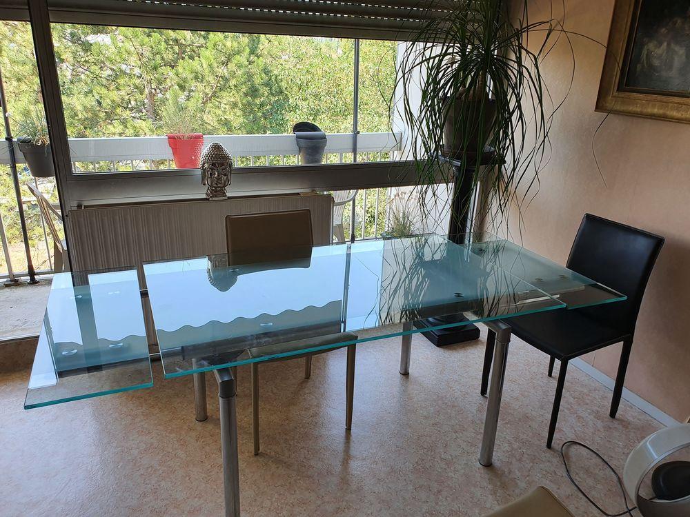Table verre et 4 chaises 250 Dijon (21)