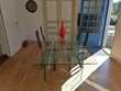 Table en verre + 4 chaises Meubles