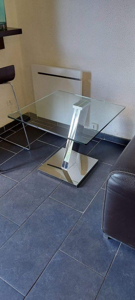 Table en verre design trempé design Meubles