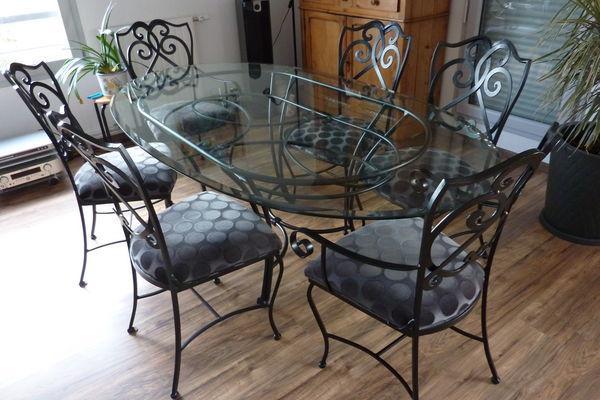 table verre et ferronnerie 0 Nanterre (92)