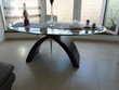 TABLE EN VERRE DE SALLE A MANGER Meubles