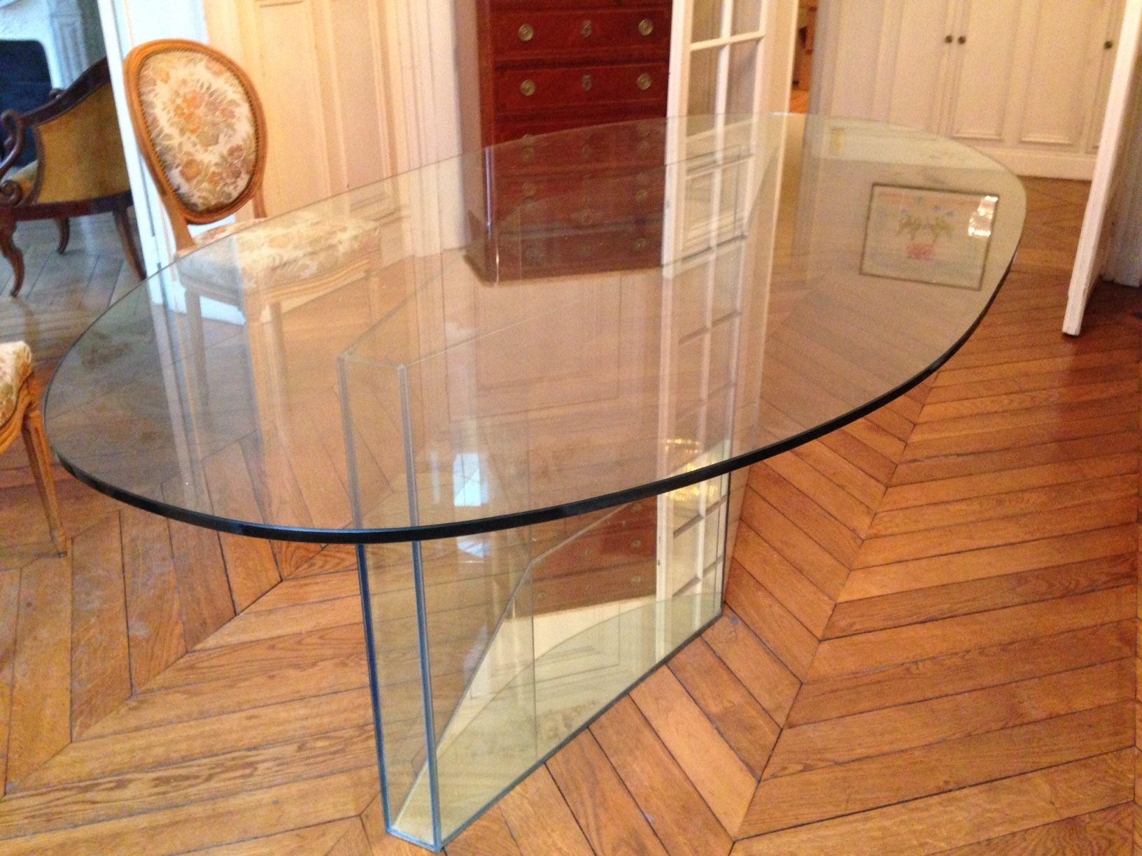 Table en Verre Salle à Manger 450 Paris 17 (75)