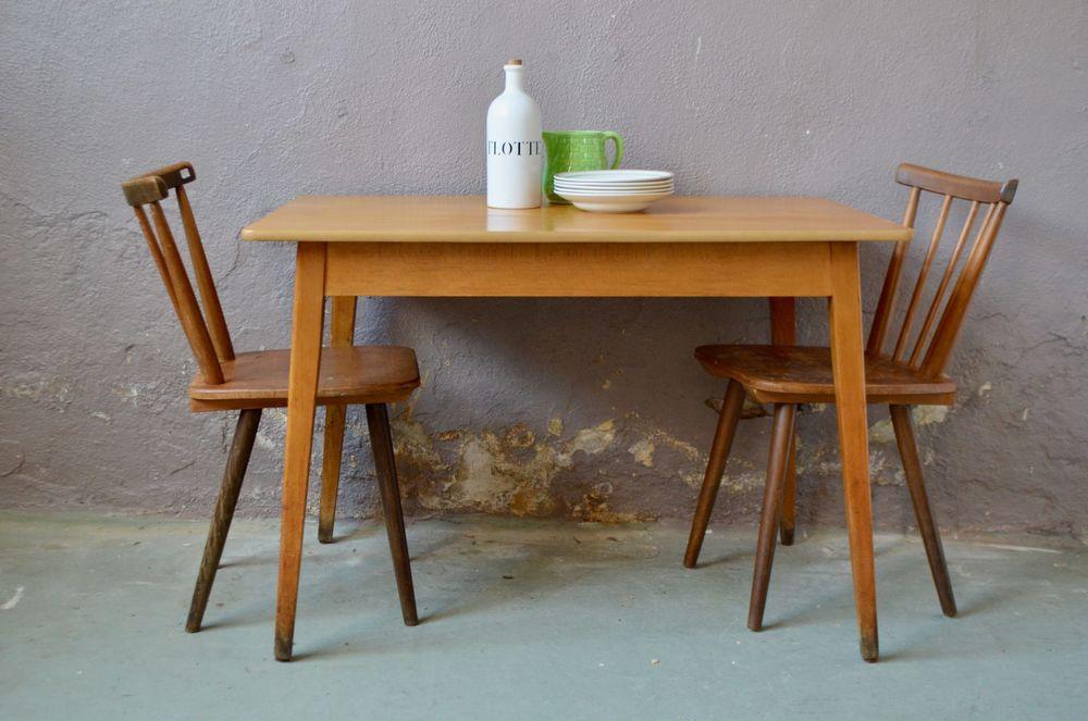 table vintage de bistrot ancienne pieds compas ferme 380 Wintzenheim (68)