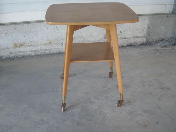 table vintage + table  années trente  et 2 fauteuils 100 Pont-l'Abbé (29)