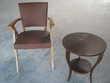 """table vintage + table """"années trente"""" et 2 fauteuils Meubles"""