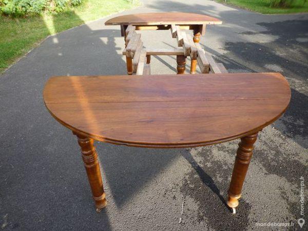Table à volets 6 pieds Louis Philippe en Noyer Meubles