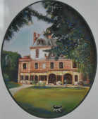 Tableau Ancien pastel encadre signé BALDY 30 Orléans (45)