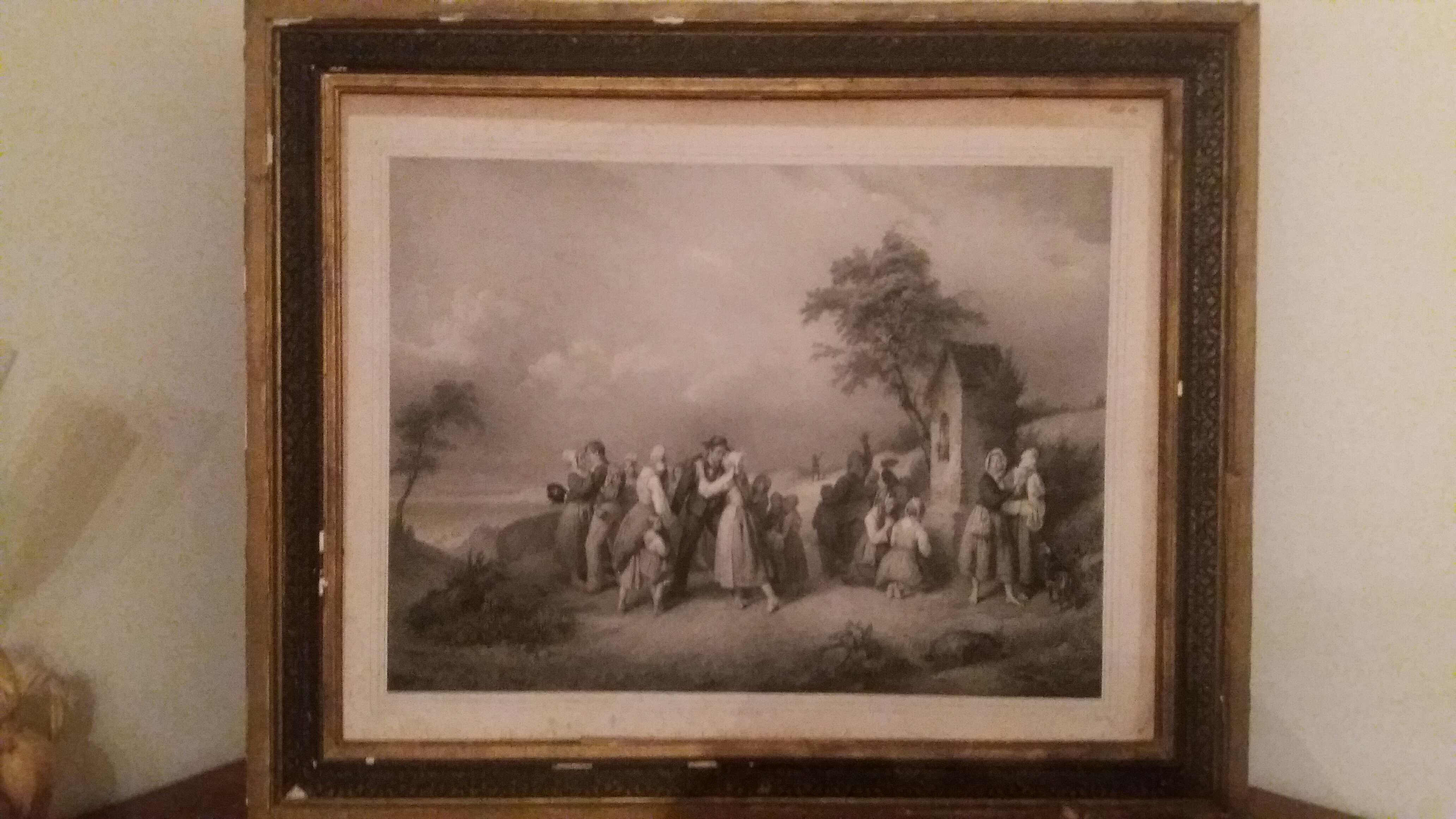 tableau  ancien voir photos 0 Sainte-Hélène-sur-Isère (73)