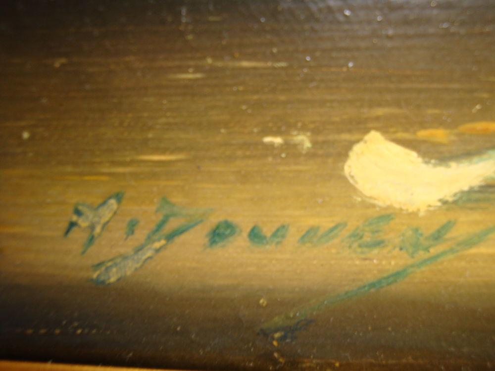 Tableau ancien 40 Quesnoy-sur-Deûle (59)
