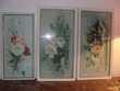 4 tableau et  aquarelles fleurs XIX. siecle Sainte-Foy-lès-Lyon (69)