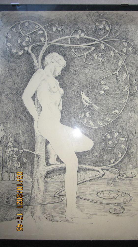 Tableau de nue Bachmann George 65 Hésingue (68)