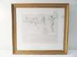 TABLEAU CADRE DELACROIX EUGENE FAC SIMILE ALFRED ROBAUT art