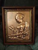tableau en cuivre liseuse 25 Le Tampon (97)