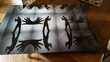 Tableau déco noir et blanc OMBRES