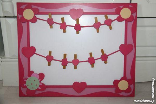 Tableau décoration porte photos pour chambre fille 5 Paris 18 (75)