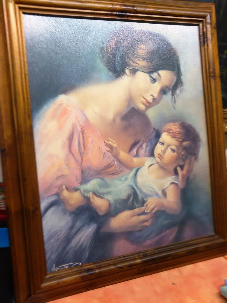 Tableau  Femme/enfant  0 Eschau (67)