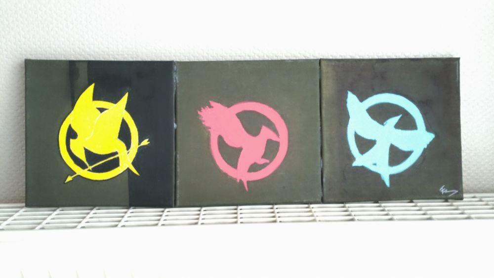 Tableau  Hunger Games  7 Créhange (57)