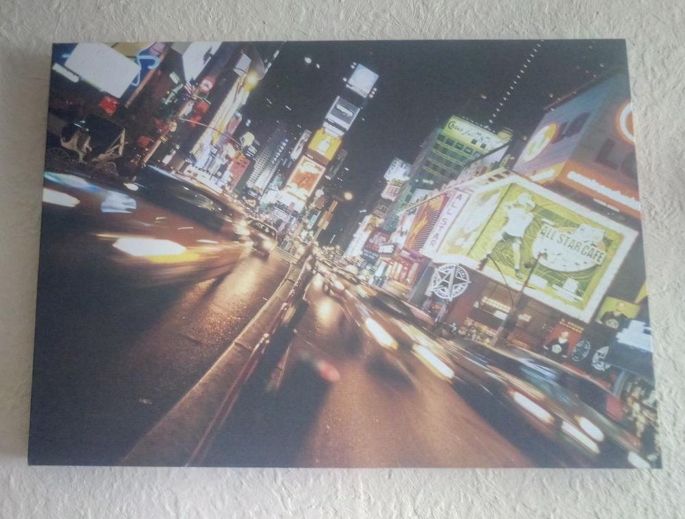 Tableau imprimé NEW YORK NOCTURNE 25 Grasse (06)