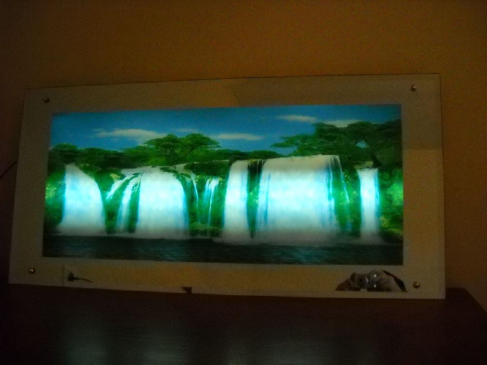 tableau lumineux et sonore chutes du Niagara 10 Lézan (30)
