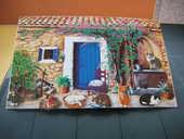 Tableau magnétique couleur avec 7 chats 30 Le Vernois (39)